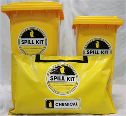 60L, 120L, 240L Chemical Spill Kit Range